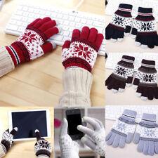Touch Screen Knitted Gloves Men Women Gloves For Tablet Phone Random Color