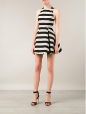 Alice + Olivia CHASE BOX PLEAT MINI DRESS Size 2 NEW