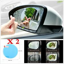 2X Round Car Auto Anti Fog Rainproof Rearview Mirror Protective Film Accessories