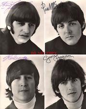 Beatles Signed 8x10 Autographed Photo Reprint