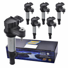 Set of 6 Herko B057 Ignition Coils For Buick Cadillac Saab 2.0L 2.8L 3.6L 04-09
