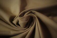 "Upholstery 100% Cotton Mocha Beige 10 OZ. Bull Denim Canvas Twill Fabric 56"" W"