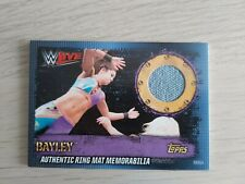 Topps WWE Slam Attax 10th Edition RMGA BAYLEY Ring Mat Relic