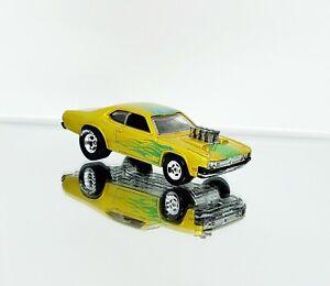 Hotwheels 71 Dodge Demon Premiere Custom Real Riders Spectraflame Candy Paint