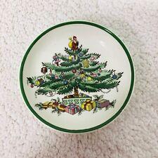 "Older Spode Christmas Tree England Butter Pat 3"""