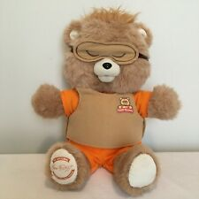 "Teddy Ruxpin 16"" Plush 2017 Interactive Storytelling Electronic Bluetooth Toy"