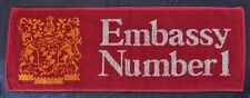 NEW EMBASSY NUMBER 1 BAR TOWEL - HOME BAR / MAN CAVE - VINTAGE COLLECTABLE