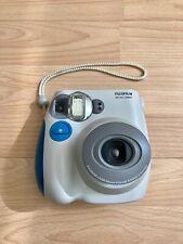 Fujifilm INSTAX Mini 7S Polaroid (white & blue) - Excellent condition