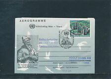 AUA-Erstflug 1993 Wien-Tirana auf UNO-Aerogramm   22/9/15