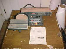 "Craftsman 113.226424 4"" Belt & 6"" Disc Sander w/ Manual"