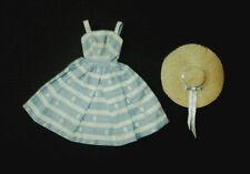 Vintage Barbie Suburban Shopper Dress & Hat Outfit Nice!