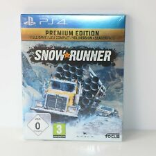 Snowrunner (Snow Runner) Sony PS4 PlayStation 4 Game - PREMIUM EDITION - New