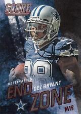 2014 Score Destination End Zone Red #DE9 Dez Bryant Cowboys