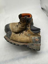 Timberland Pro Men's Titan53536 Brown Safety-Toe Work Boot Style Size 8.5 B213