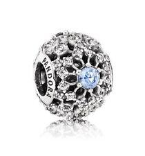 S925 Disney Pandora Cinderella's Wish Snowflake Charm 791592CFL Ale