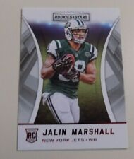 2016 PANINI ROOKIES AND STARS #246 JALIN MARSHALL ROOKIE RED PARALLEL CARD -