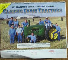 Catlin Illinois Classic Farm Tractors 2001 Calendar DuPont