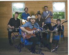 WILCO (ROCK BAND) SIGNED AUTHENTIC GROUP 8X10 PHOTO w/COA X6 JEFF TWEEDY
