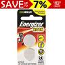 NEW 2x Genuine Energizer E-CR2016 Lithium Button Battery 3V Zero Mercury CR 2016
