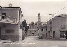 CARTOLINA LOMBARDIA PAVIA- GIUSSAGO, PIAZZALE CHIESA PARROCCHIALE