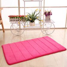 Memory Foam Soft Bathroom Bedroom Bath Mat Floor Rug Carpet With Non Slip Back