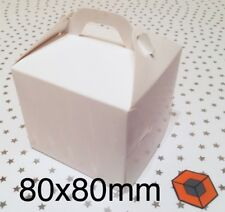 30 Single Individual Cupcake / Muffin Boxes - Bargain 80x80mm