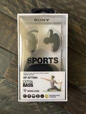 Sony WF-SP700N Wireless In-Ear Headphone - Black