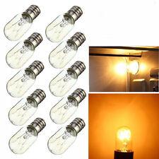 10x Salt Lamp Globe Light Refrigerator Bulb AC220-230V 15W Screw E14 New