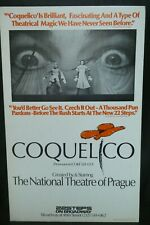 """Coquelico Theater Broadway Window Card Poster 14"""" x 22"""""""