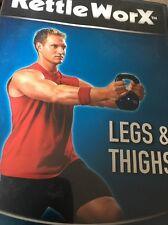 Kettle Worx Legs & Thighs DVD Fast, Fun, 10-Minute Workouts Ryan Shanahan
