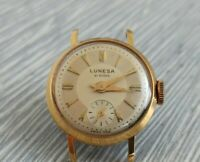 LUNESA WATCH, rare vintage SWISS, vintage watch. 21 Jewels