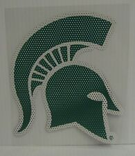 6-Inch Michigan State Spartans Logo Perforated Vinyl Window Graphic