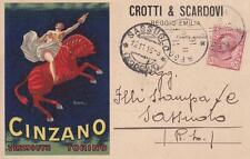 C3155) CINZANO VERMOUTH, GROTTI E SCARDOVI REGGIO EMILIA. ILLUSTRATORE CAPPIELLO