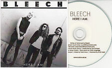 BLEECH Here I Am 2013 UK 1-track promo CD