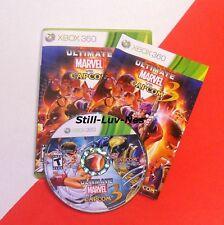 Xbox 360, ULTIMATE Marvel Vs Capcom 3 (Complete w/ Manual)