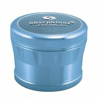 "2.5"" Sharpstone® 2.0 4pc Solid Top Grinder - Blue"