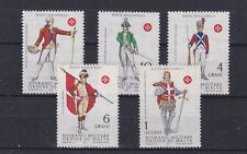 Magistrali post 1971 military soldiers,set of five,MNH        j2463