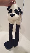 CHEEKY CHARLIE PANDA BEAR Mitts 'N Hat Aurora World  BRAND NEW White Black