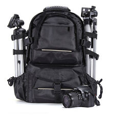 Deluxe Camera Backpack Bag Case for Sony Canon Nikon DSLR SLR Multifunctional