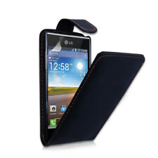 For HTC Sensation XE /G18- Leather Effect Top Flip Case