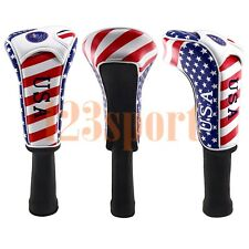 Golf Headcover Driver Club USA Style for 460cc Titleist Callaway Ping US STOCK