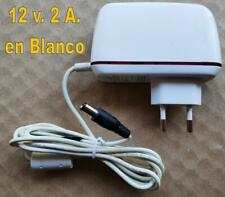 ALIMENTADOR 12 v. 2 A. COLOR BLANCO DC-122