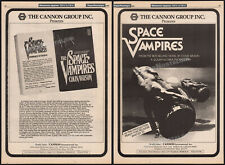 "SPACE VAMPIRES / LIFEFORCE__Orig. ""1980"" Trade print AD / advance promo / poster"