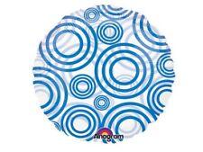 Amscan Magiicolour Bleu Cercles Ballon Hélium - Célébration Fête D'Anniversaire