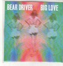 (CZ892) Bear Driver, Big Love - DJ CD