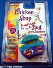 RADICA CHICKEN SOUP TEENAGE FOR THE SOUL WORD SCRAMBLE HANDHELD CHILDRENS GAME