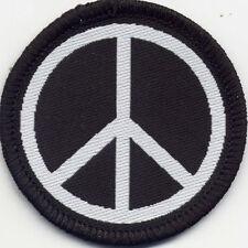 Peace Anti-War CND  Badge Patch 50mm Diameter