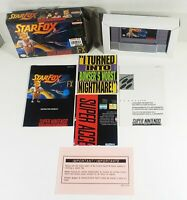 Star Fox Super Nintendo Game SNES CIB Box Manual Shrink-wrap COMPLETE Near Mint