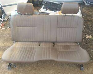 Genuine Front Bench Seat Nissan Navara 1990