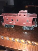 LIONEL 6037 CABOOSE - LIONEL LINES - O-SCALE Hole On Back Of Car See Photos